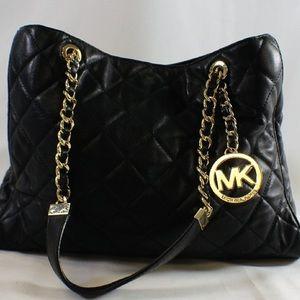 Michael Kors Quilted Chain Strap Shoulder Bag